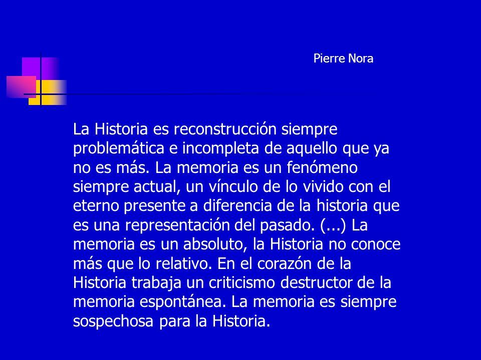 Todavía, la ingenua confianza en la objetividad del conocimiento histórico no se puede sustituir por una especie de relativismo histórico absoluto.