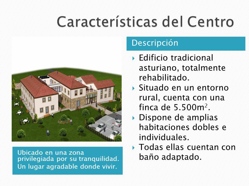 Ubicado en una zona privilegiada por su tranquilidad. Un lugar agradable donde vivir. Descripción Edificio tradicional asturiano, totalmente rehabilit
