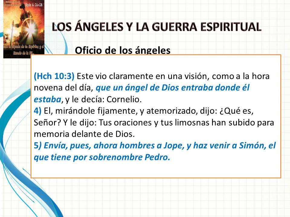 Algunas de las tareas de los ángeles son: 1.Guían: Felipe - Hch.