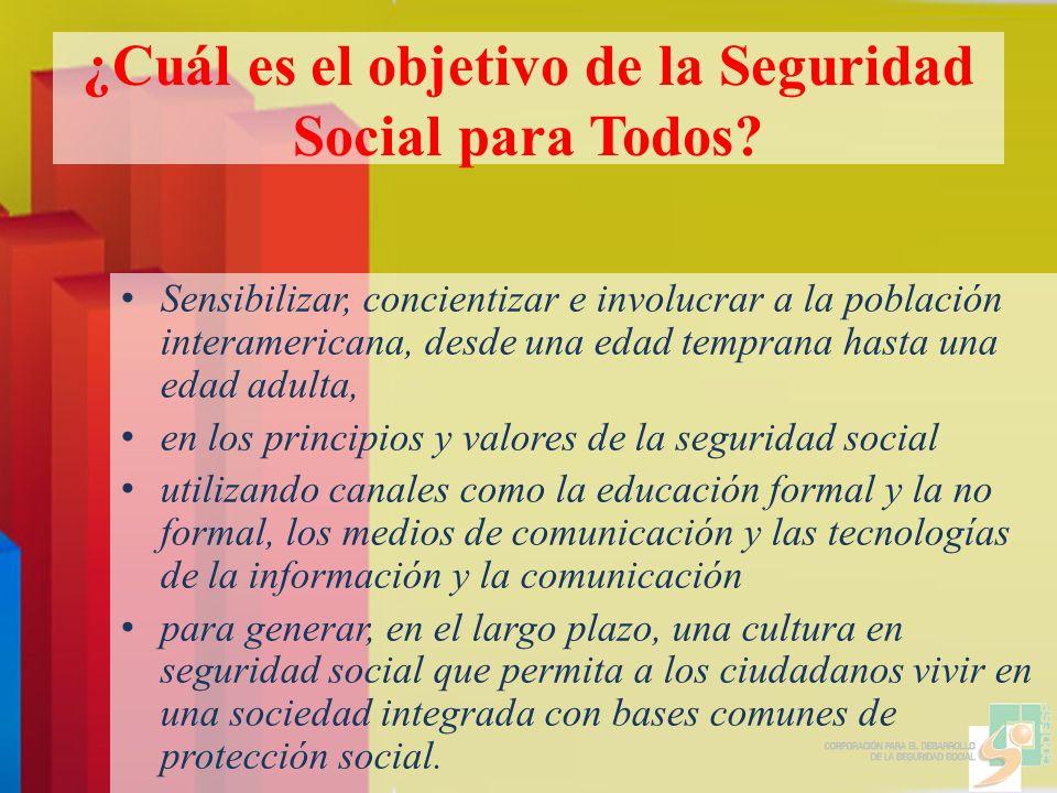 ¿Cuál es el objetivo de la Seguridad Social para Todos.