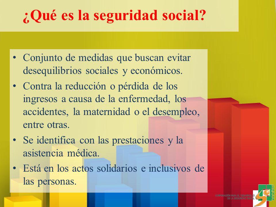 Conjunto de medidas que buscan evitar desequilibrios sociales y económicos.