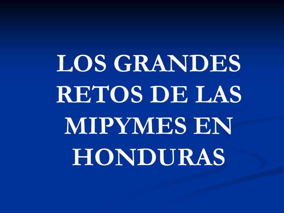 LOS GRANDES RETOS DE LAS MIPYMES EN HONDURAS
