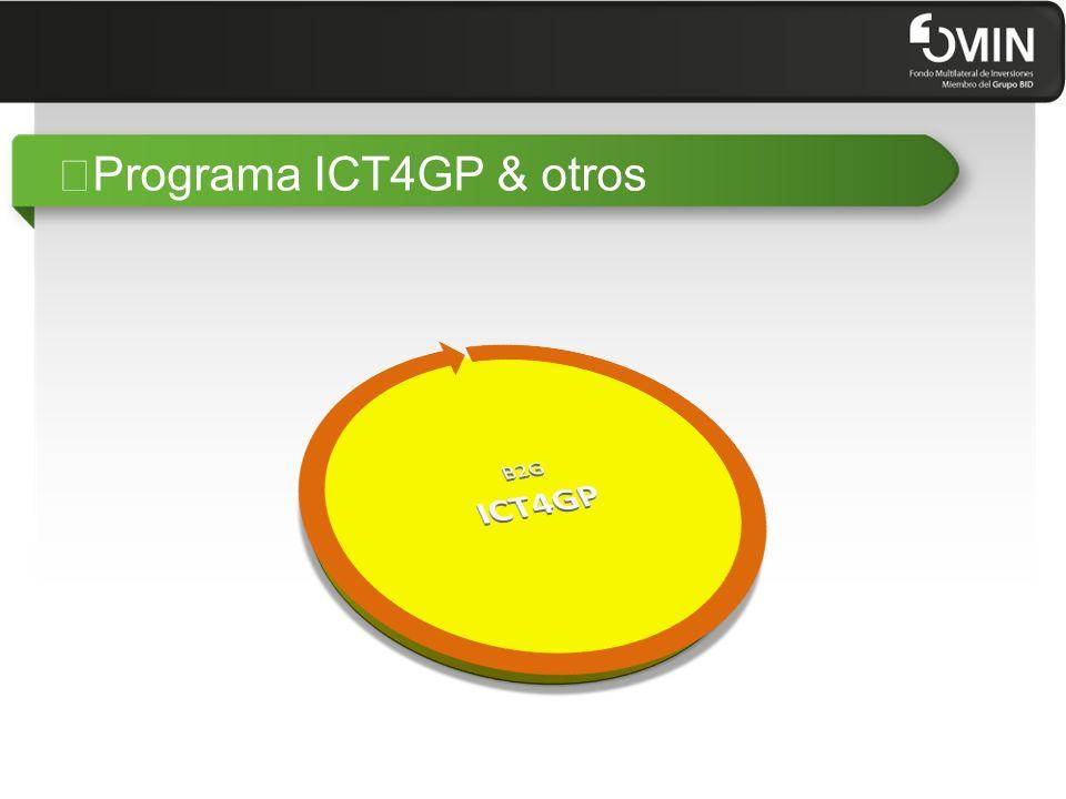 """Programa ICT4GP & otros"
