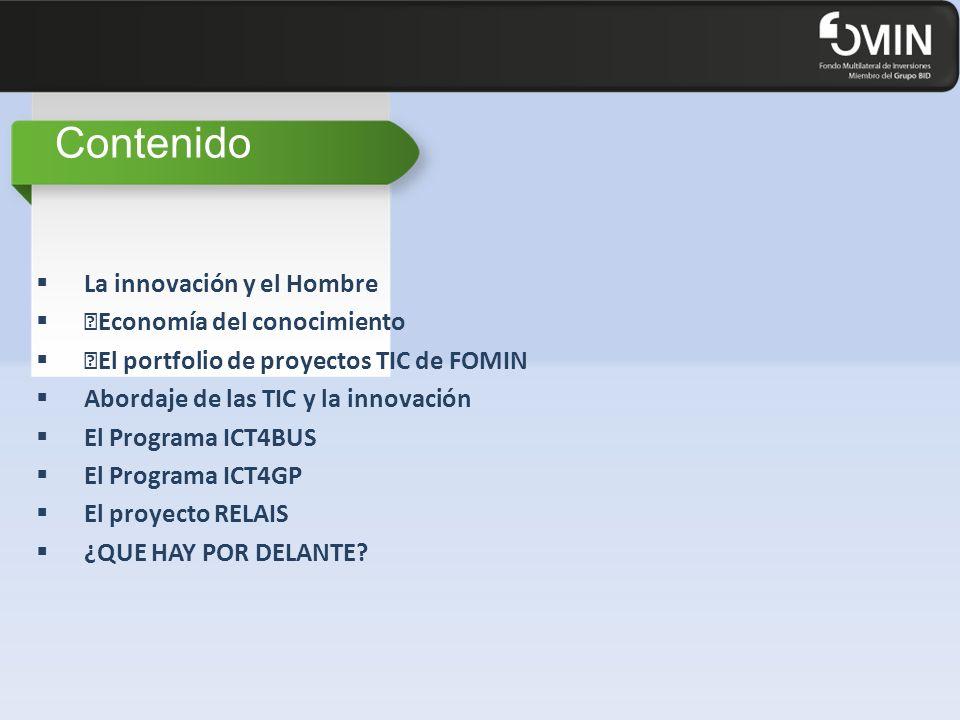 """""""El portfolio de proyectos TIC de FOMIN 49"""