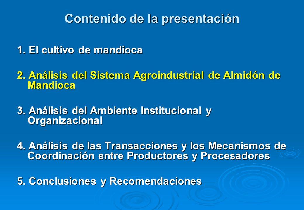 Modelos de gobernanza presentes en la cadena A.Modelos tradicionales de gobernanza i.