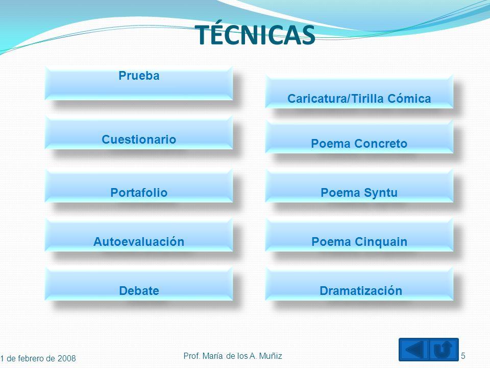 Bitácora o Registro de Anecdótico Descripción de comportamientos que se consideran importantes.