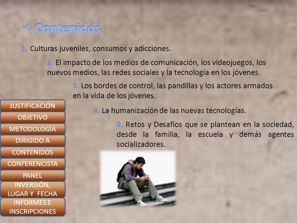 Padre Carlos Arturo Quintero Gómez JUSTIFICACIÓN OBJETIVO METODOLOGÍA DIRIGIDO A CONTENIDOS CONFERENCISTA PANEL INVERSIÓN, LUGAR Y FECHA INFORMES E INSCRIPCIONES Comunicador Social - Periodista de la UPB de Medellín Creador y Director del Departamento de Comunicación de la Diócesis de Armenia Fundador y Director del CELAI, Centro de Evangelización de Laicos Creador y Profesor de la Cátedra de Comunicaciones en el Seminario mayor Juan Pablo II.