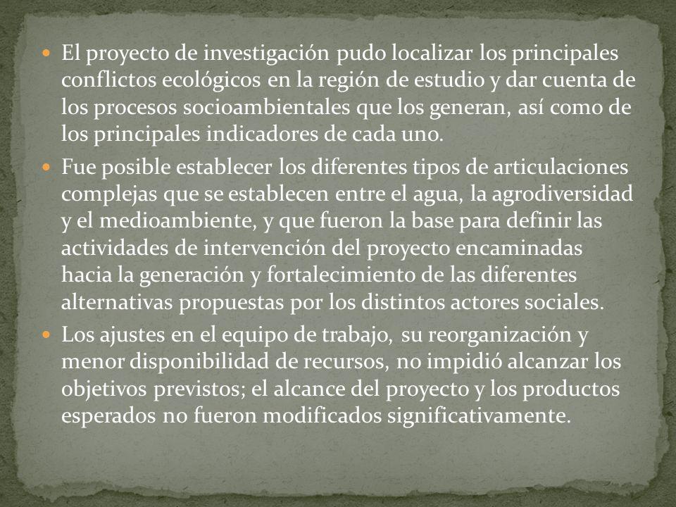 ¿Cuáles son las formas de gestión asociadas a problemas ambientales y conflictos ecológicos.