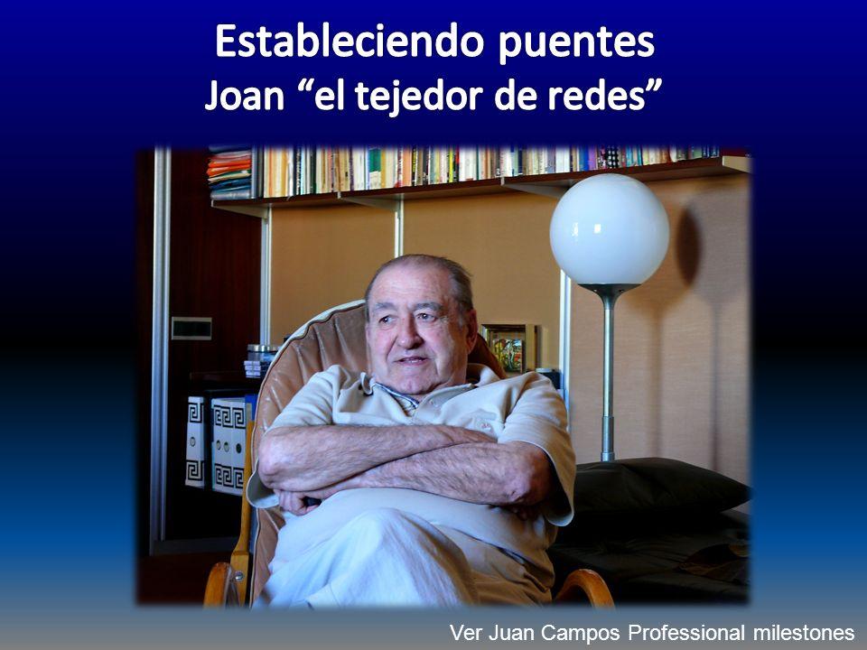 Ver Juan Campos Professional milestones