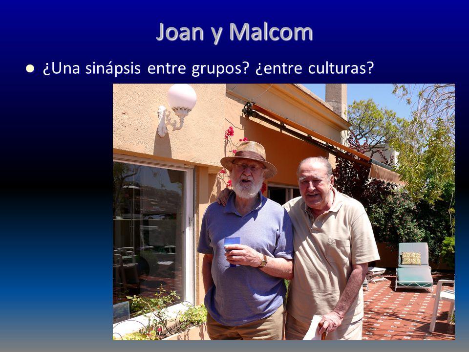 Joan y Malcom ¿Una sinápsis entre grupos? ¿entre culturas? ¿Una sinápsis entre grupos? ¿entre culturas?