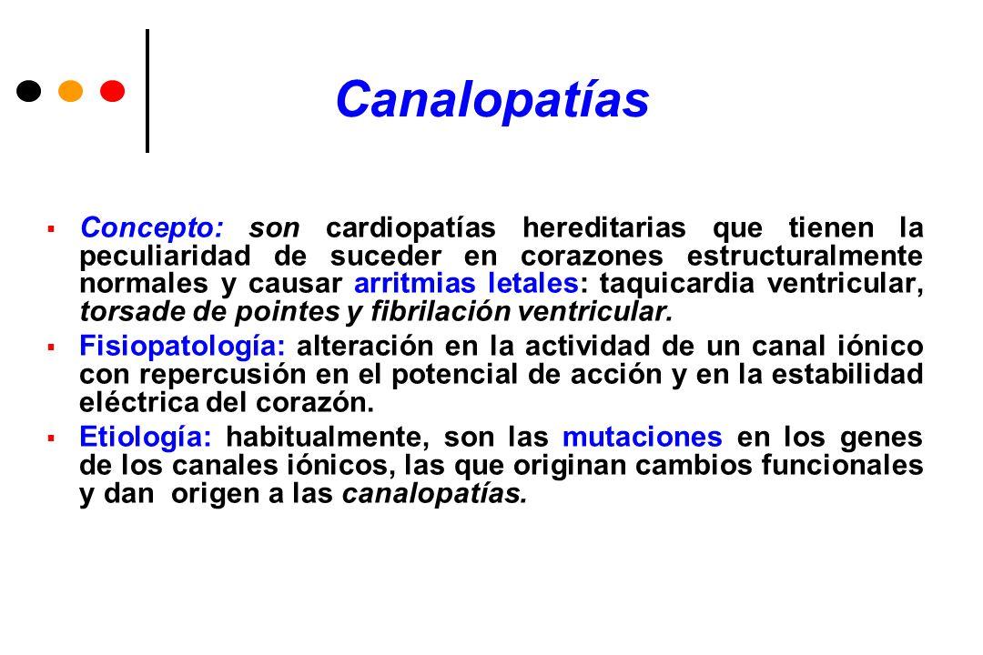 Síndrome de Brugada Es una enfermedad con herencia autosómica dominante y penetrancia variable.