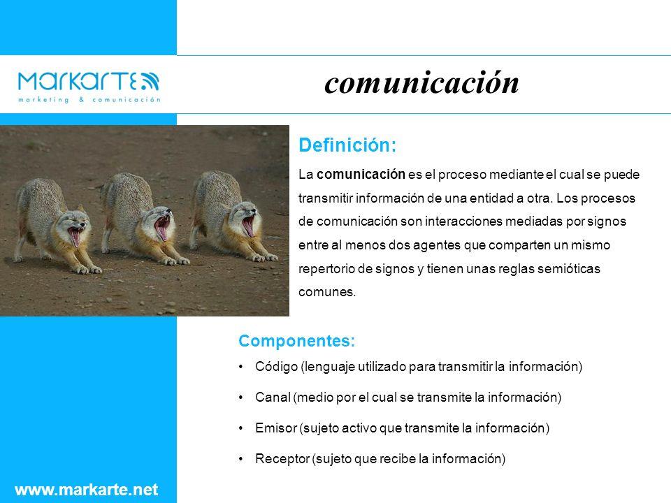 Definición: La comunicación es el proceso mediante el cual se puede transmitir información de una entidad a otra.