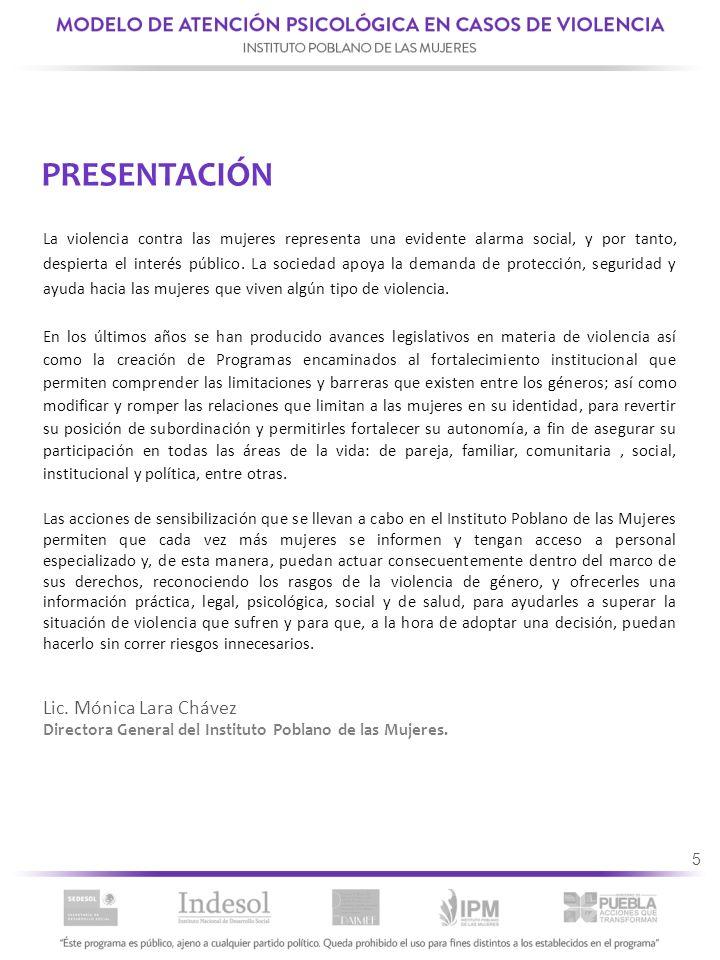 76 6.PROCEDIMIENTO DE ATENCIÓN PSICOLÓGICA 6.1.