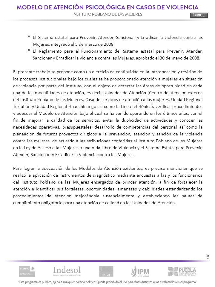 79 6.4.MODELO DE INTERVENCIÓN PSICOLÓGICA Etapa 1.