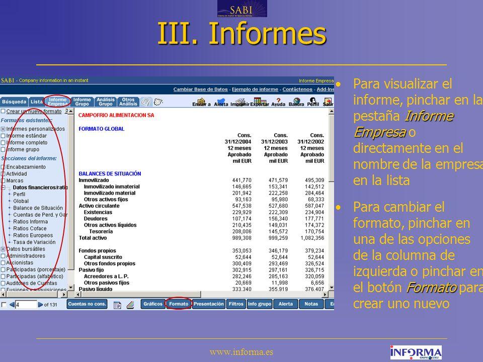 www.informa.es III.