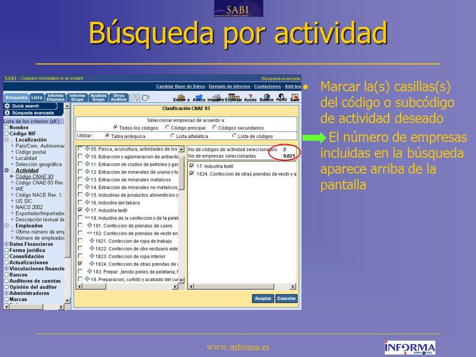 www.informa.es IV.