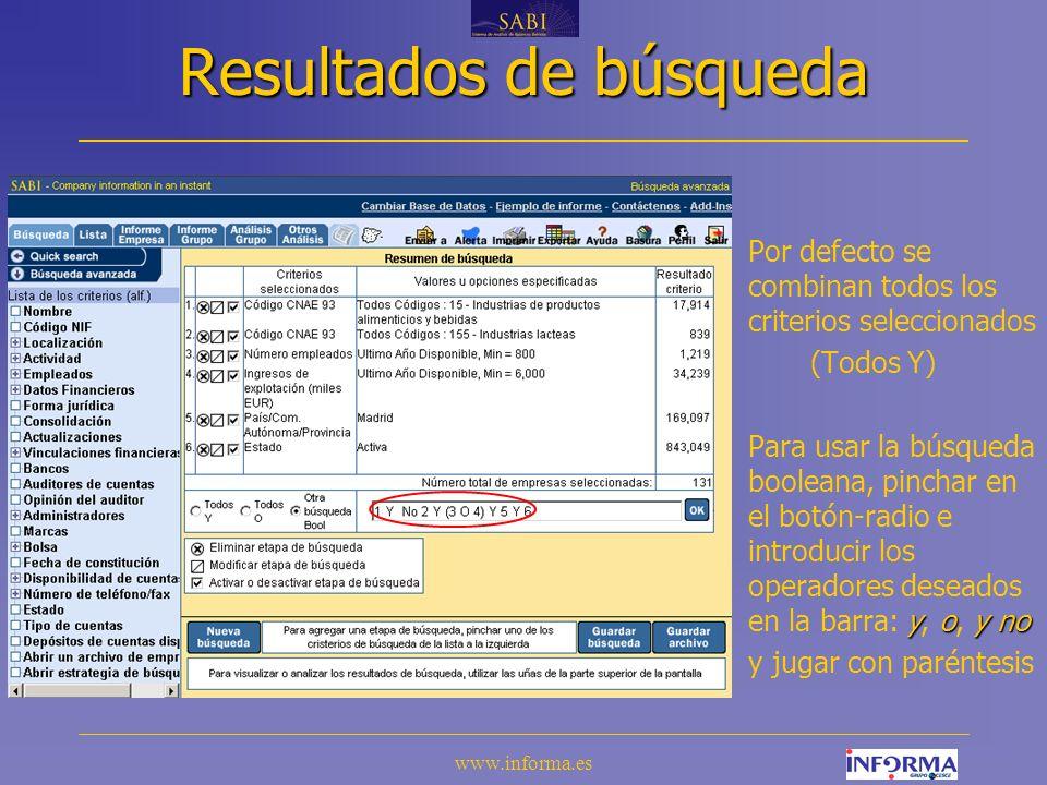 www.informa.es VI.