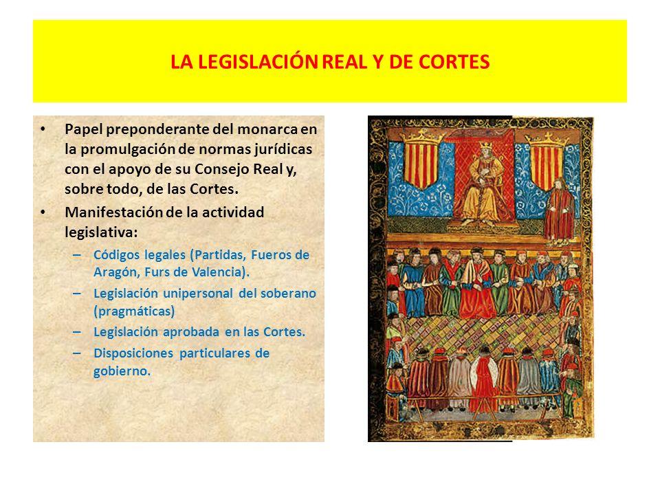 LA FORMULACIÓN OFICIAL DEL DERECHO (BAJA EDAD MEDIA) Inicios de una actuación legislativa por parte de los soberanos a partir del siglo XI: – Leyes de