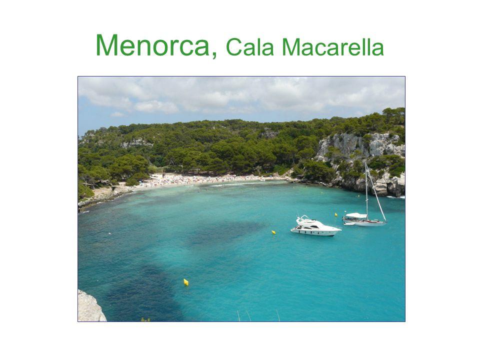 Menorca, Cala Macarella