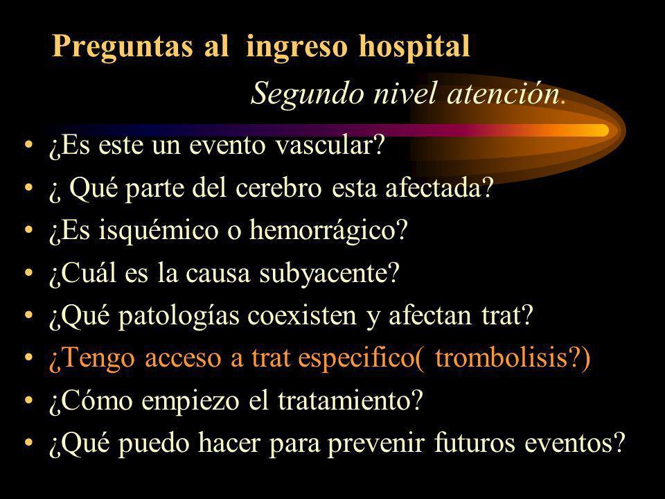 TRATAMIENTO EMERGENCIA MÉDICA. Hospitalización. Trabajo en equipo. Diagnóstico precoz.