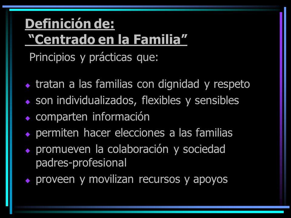 para que las familias cuiden y críen a sus hijos de manera que se produzcan óptimos resultados para el niño, los padres y la familia.