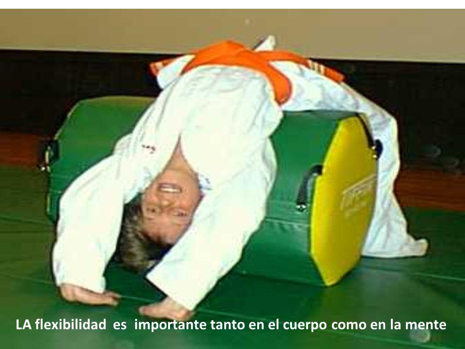 LA flexibilidad es importante tanto en el cuerpo como en la mente