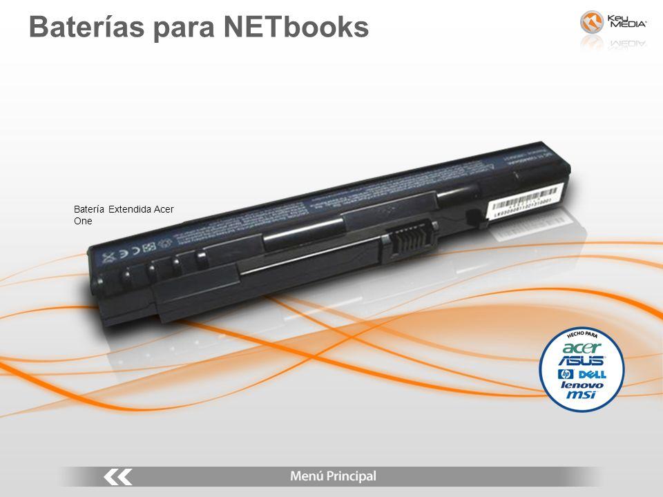 Batería Extendida Acer One Baterías para NETbooks