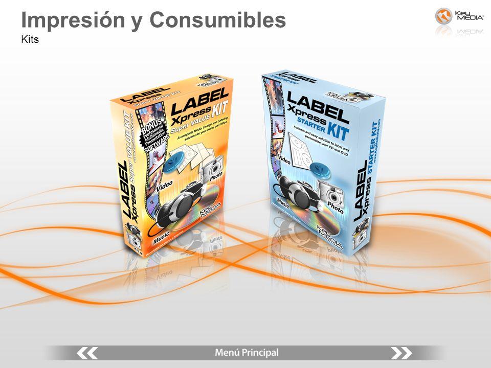 Impresión y Consumibles Kits