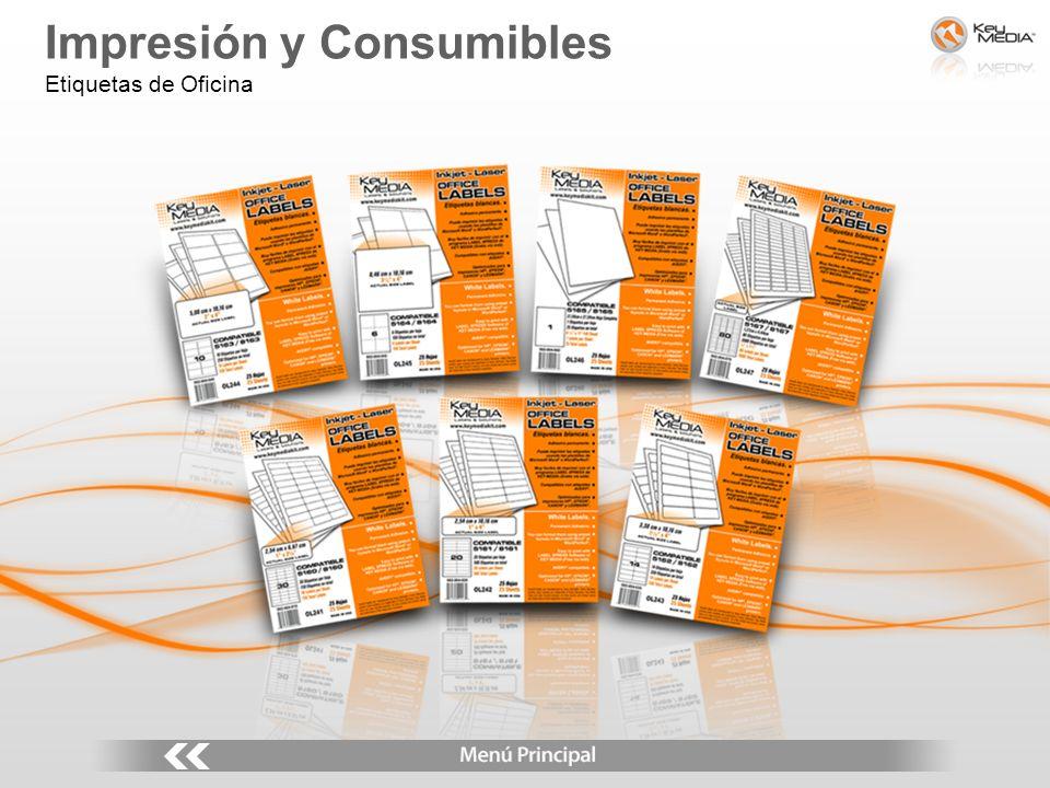 Impresión y Consumibles Etiquetas de Oficina