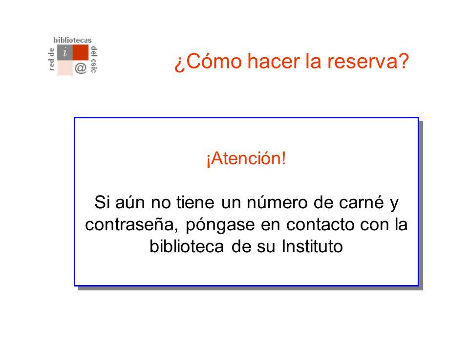 Más información La persona encargada de este servicio en la Unidad de Coordinación de Bibliotecas del CSIC es: Elvira González.