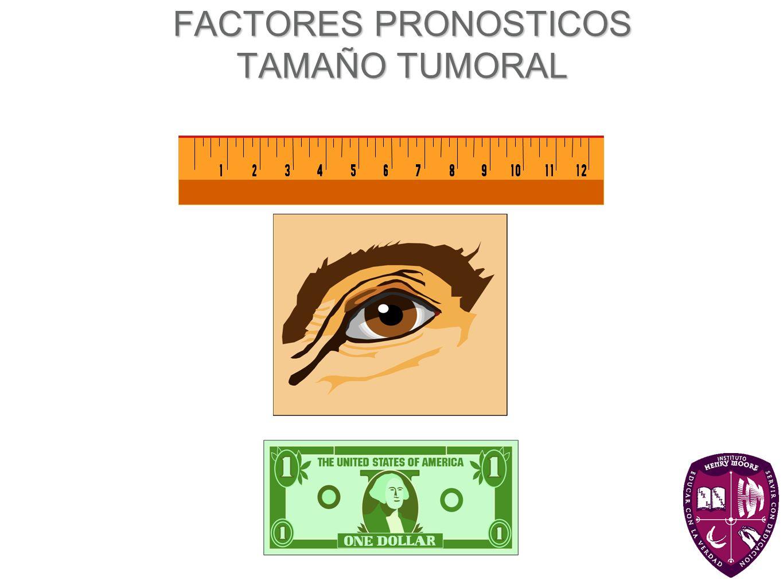 FACTORES PRONOSTICOS TAMAÑO TUMORAL