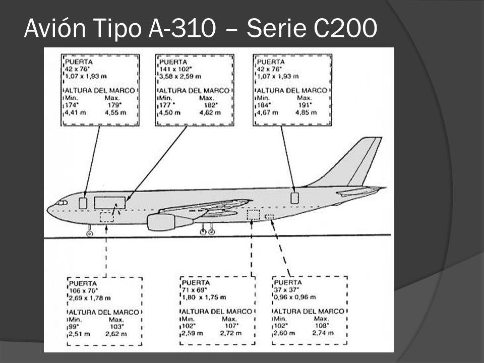 Avión Tipo A-310 – Serie C200