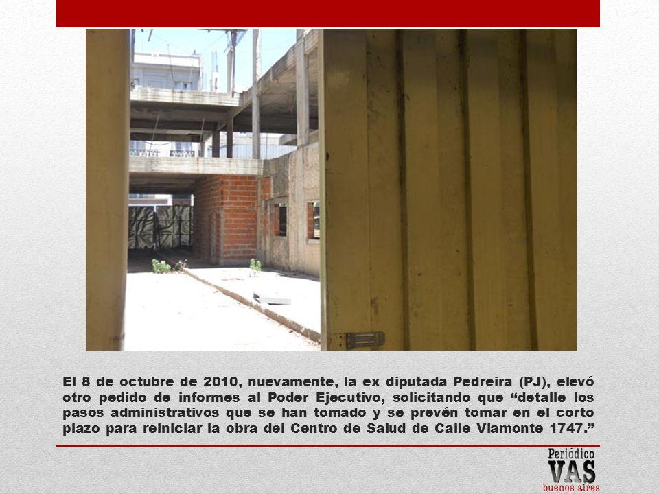 El 4 de enero de 2010 el inmueble en cuestión pasó a la órbita del Ministerio de Justicia y Seguridad porteño.