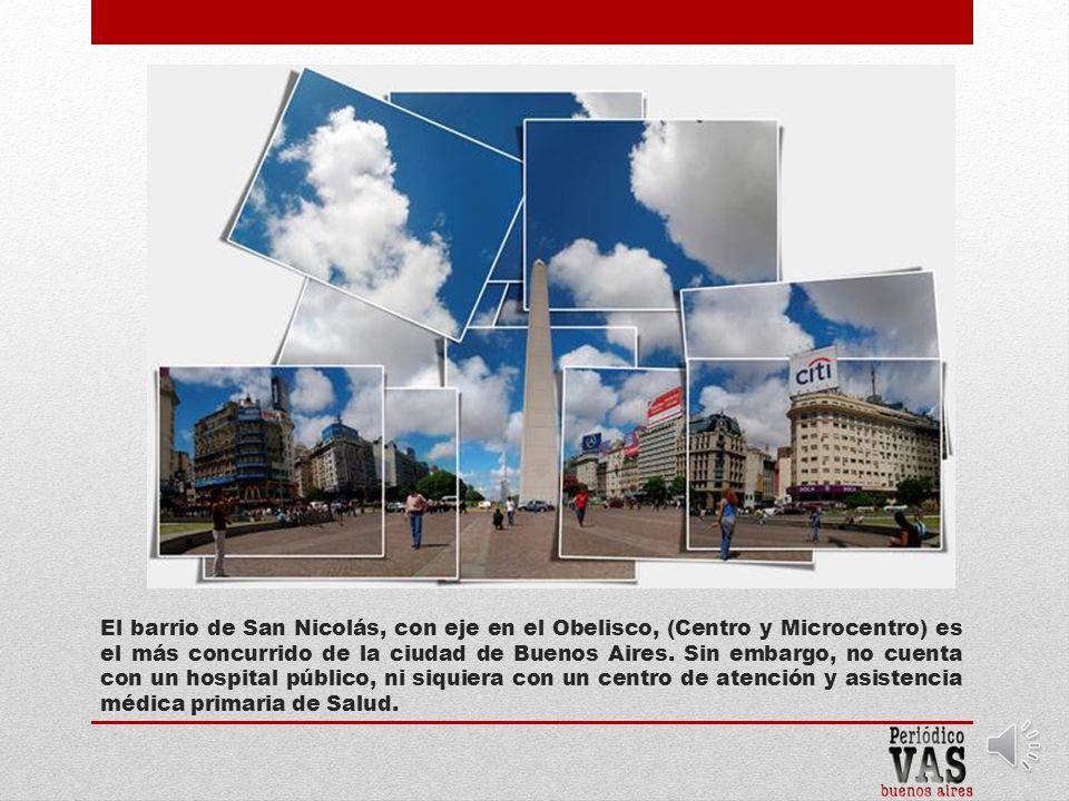 Calle Viamonte 1747 Barrio San Nicolás Comuna 1 2004 – 2012
