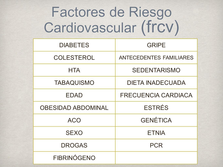 Objetivos de la prevención cardiovascular Reducir la incidencia de eventos clínicos CV primeros o recurrentes (prevención primaria y secundaria).