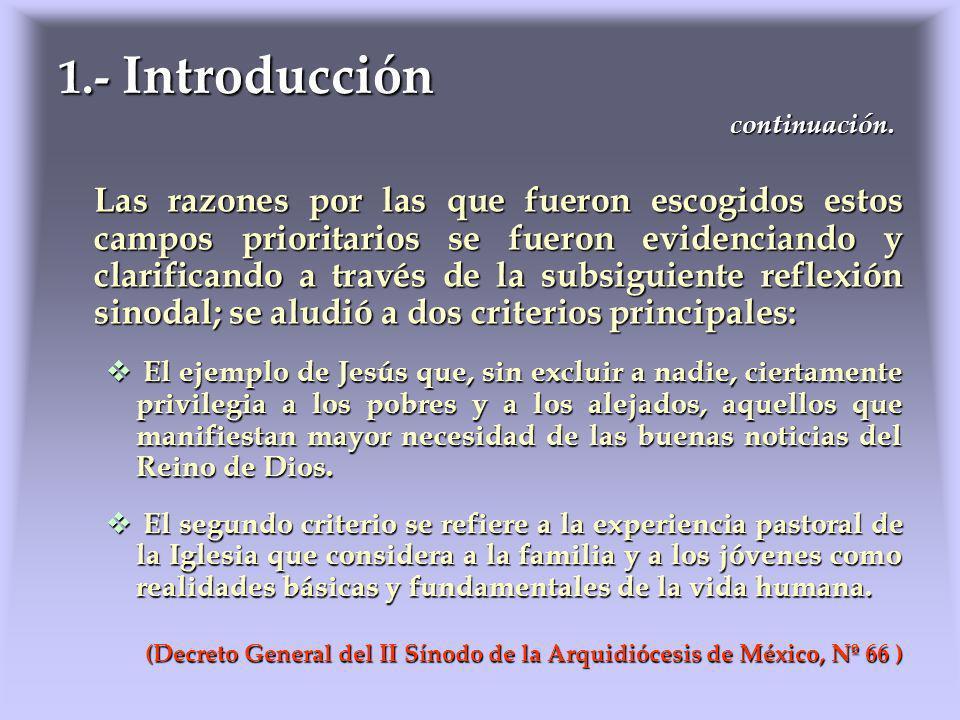 Objetivos específicos: II.1 Poner a disposición de todas las instancias pastorales de la Arquidiócesis de México, el Compendio de la Doctrina Social de la Iglesia, propiciando su estudio y aplicación, así como una Catequesis socio-caritativa para todos los niveles.