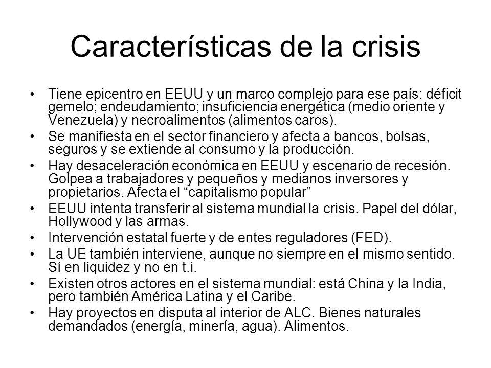 Impacto diferenciado México y Centro América más vulnerable.