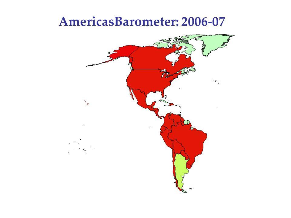 AmericasBarometer: 2006-07