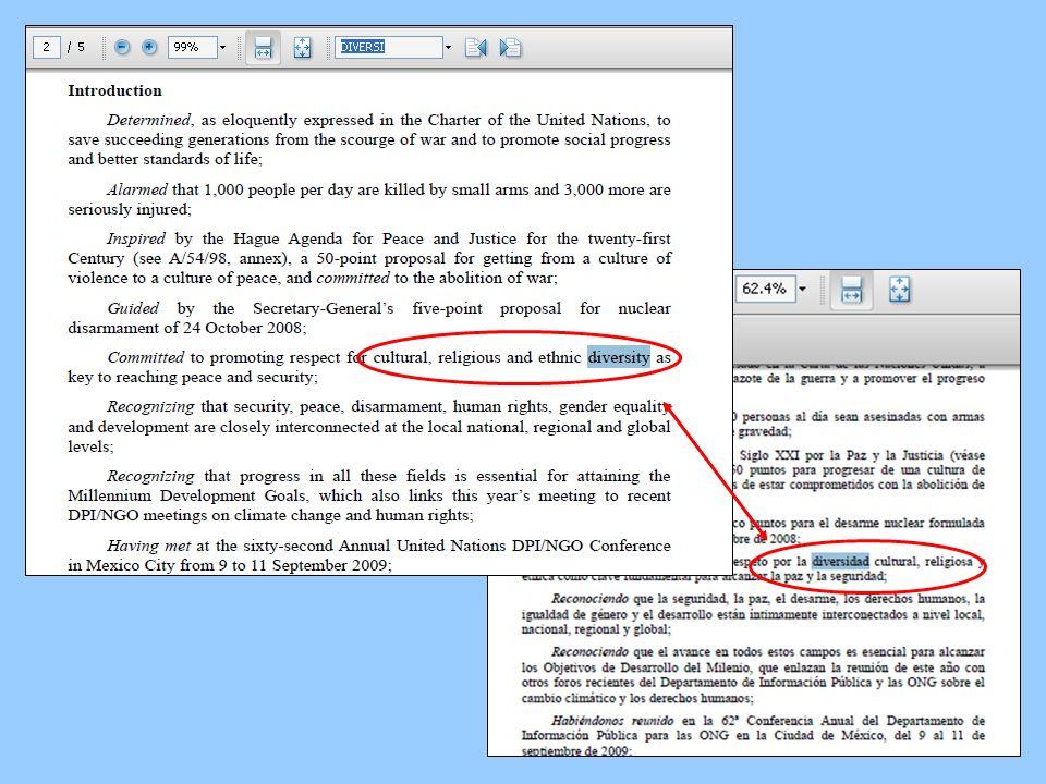 Consejos para la búsqueda Una estrategia que puede ahorrar tiempo es utilizar el código Type of Material (tipo de material) en las opciones de búsqueda.