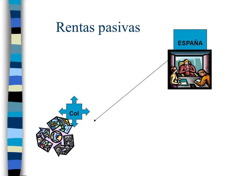 Rentas pasivas Col ESPAÑA
