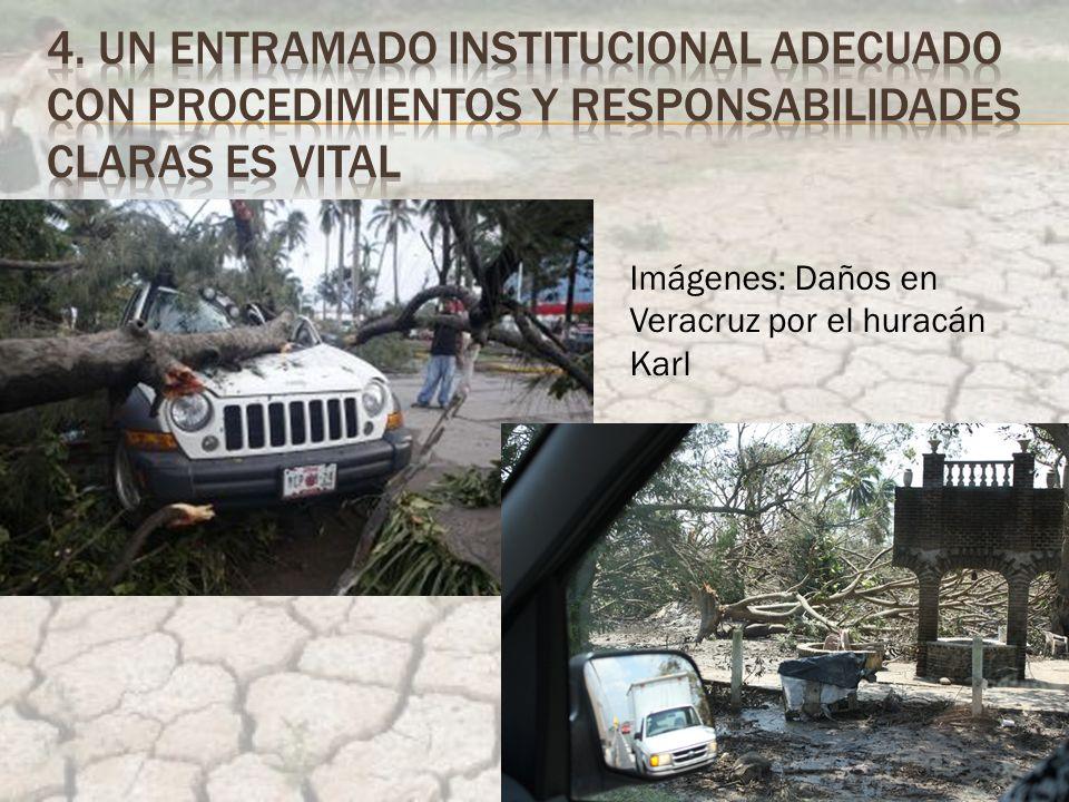 Imágenes: Daños en Veracruz por el huracán Karl