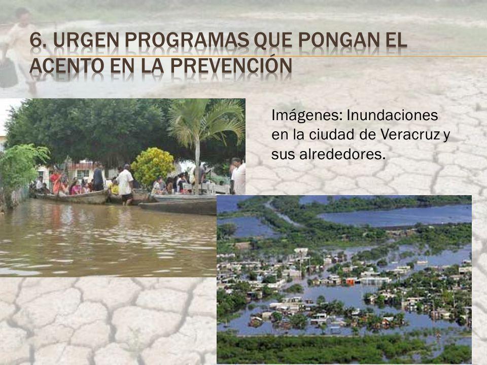 Imágenes: Inundaciones en la ciudad de Veracruz y sus alrededores.