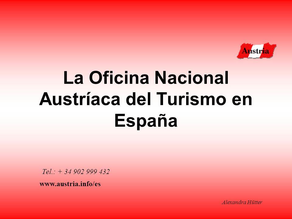 La Oficina Nacional Austríaca del Turismo en España Tel.: + 34 902 999 432 www.austria.info/es Alexandra Hütter