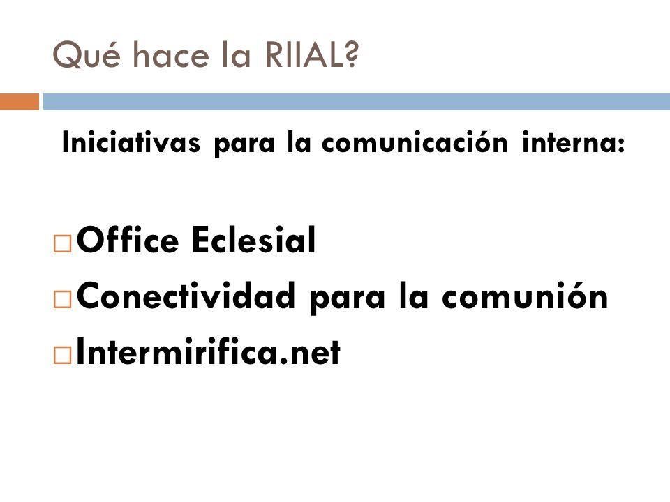 Directorio global de medios católicos www.intermirifica.net