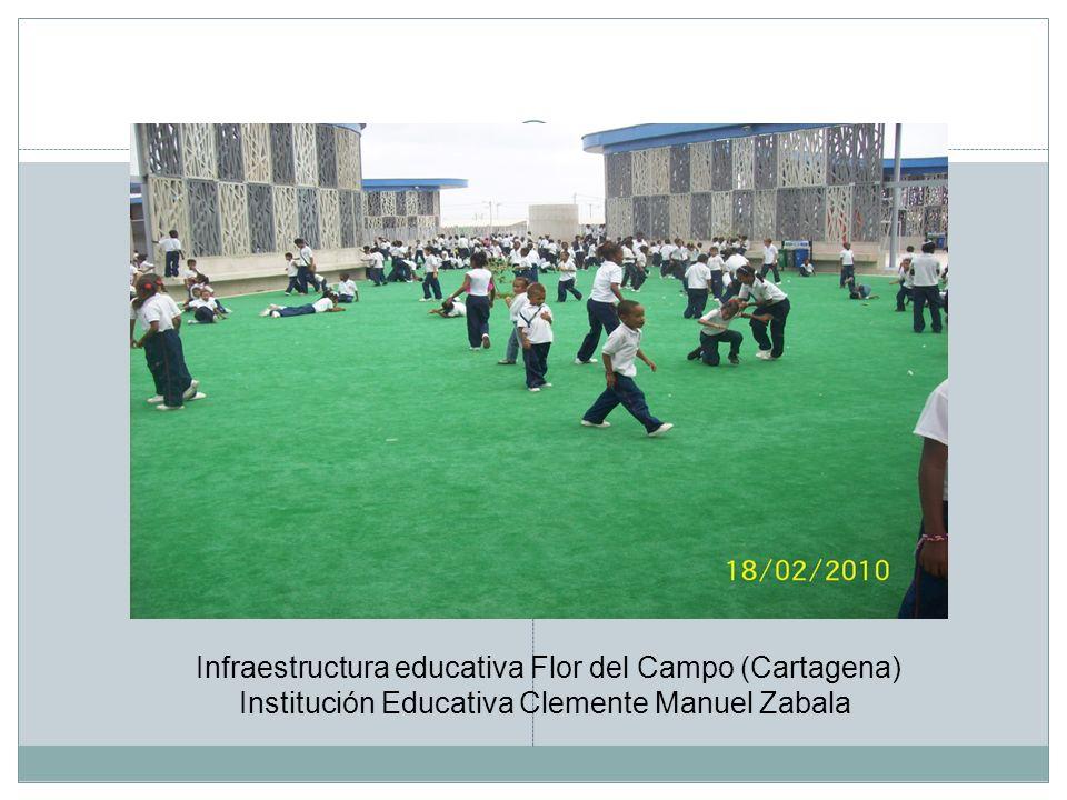 Infraestructura educativa Flor del Campo (Cartagena) Institución Educativa Clemente Manuel Zabala