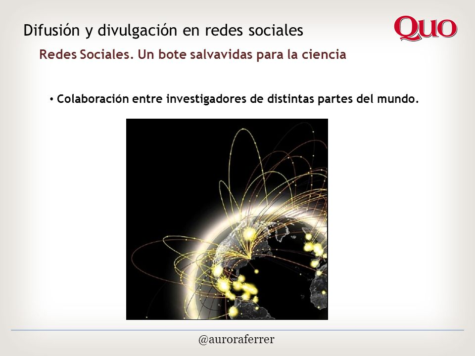 Redes Sociales.