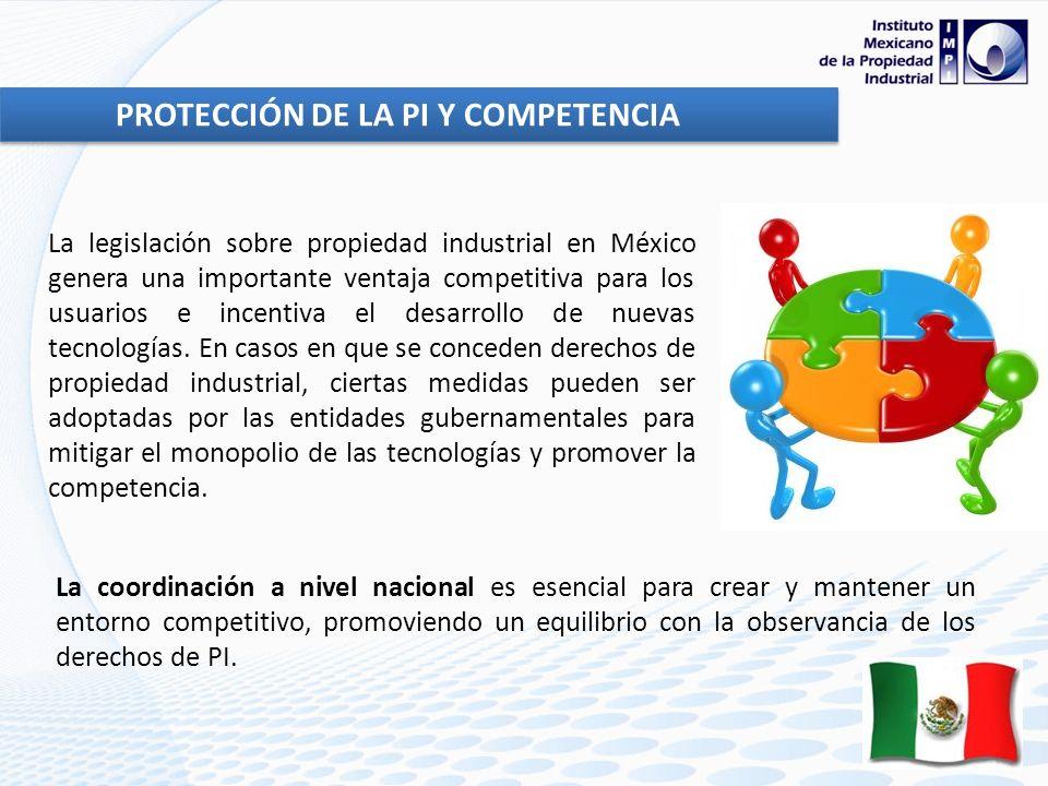 La legislación sobre propiedad industrial en México genera una importante ventaja competitiva para los usuarios e incentiva el desarrollo de nuevas te