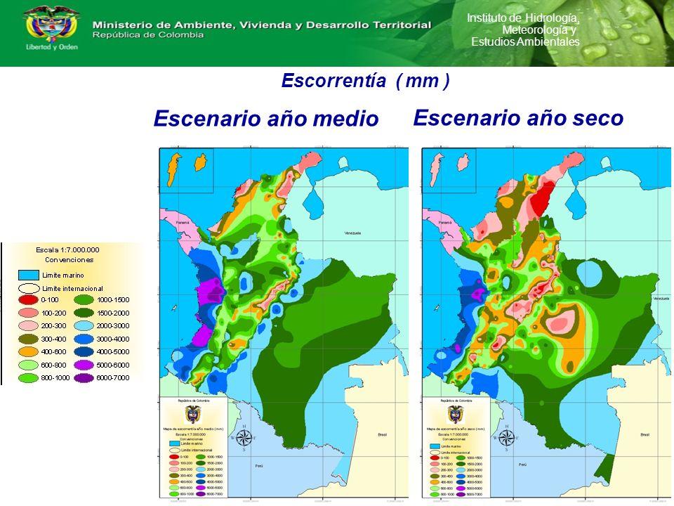Instituto de Hidrología, Meteorología y Estudios Ambientales Modelo Genérico de Procesos Unitarios para estimar la Demanda Potencial de Agua Recursos Naturales Materia ( x i ) Energía ( e i ) Proceso 1 E.A.