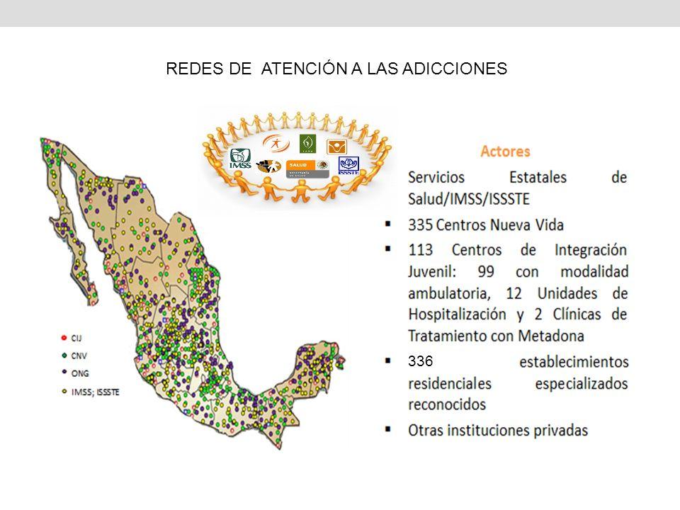 336 REDES DE ATENCIÓN A LAS ADICCIONES