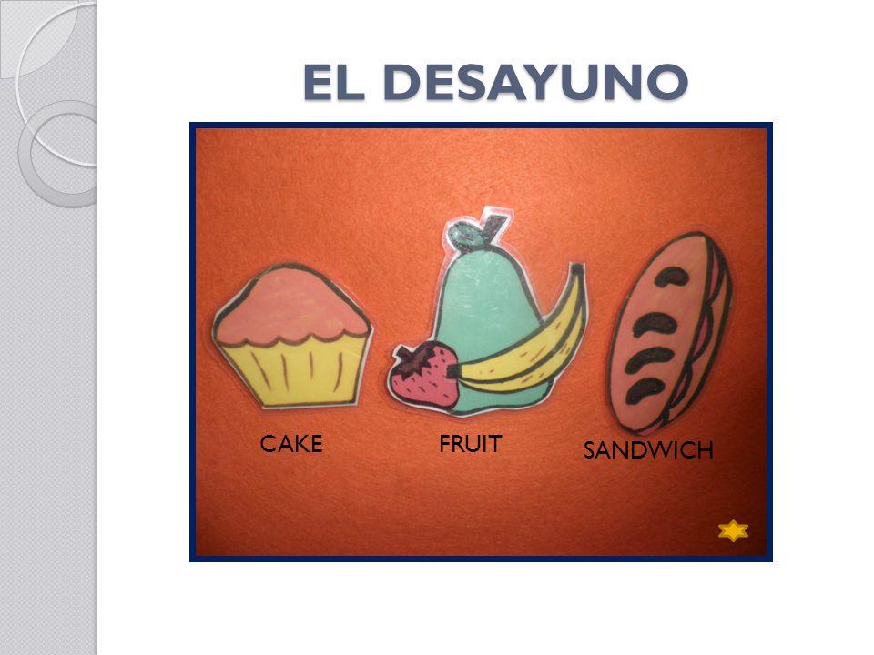 EL DESAYUNO CAKEFRUIT SANDWICH